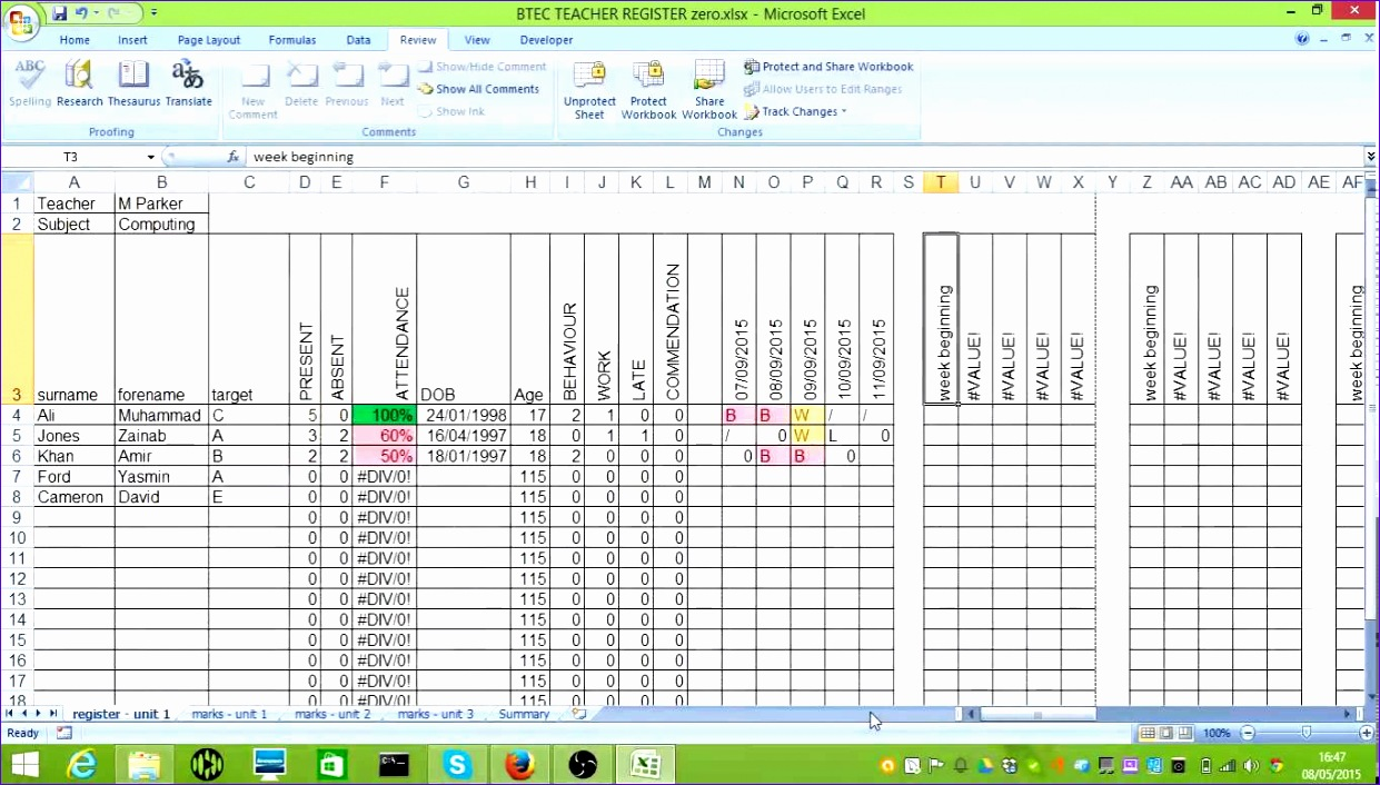 Issue Tracker Excel Template