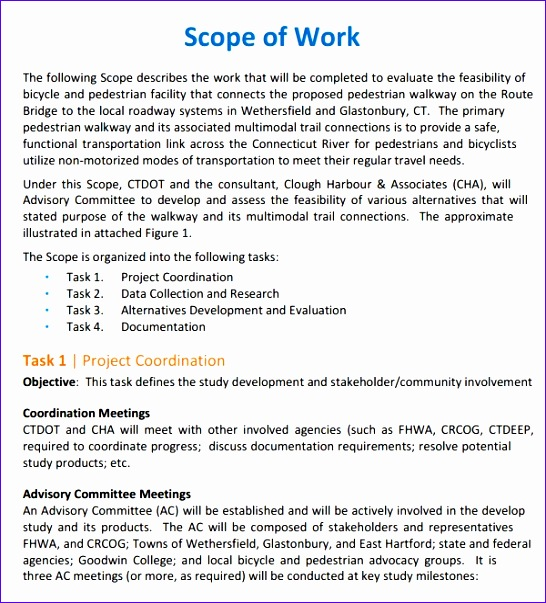 construction scope of work templates 546603