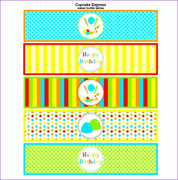 free printable water bottle labels 604613