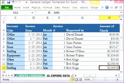 Ledger Excel Template Kfkxb Inspirational 12 Excel General Ledger Templates Excel Templates 580386