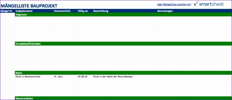 Excel Projektmanagement Vorlagen fuer das Bauwesen 936403