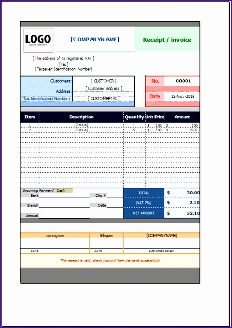 free payment receipt template 455645