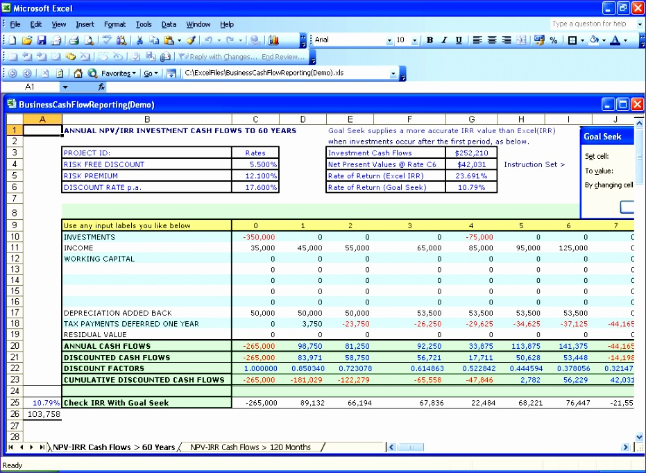 excel net present value template - 10 loan repayment template excel exceltemplates