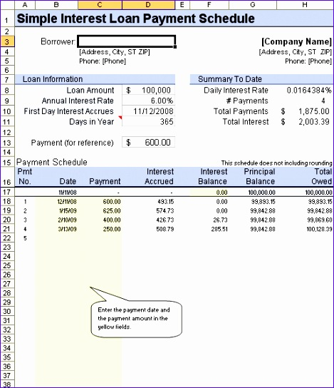 10 loan repayment template excel exceltemplates for Student loan repayment excel template