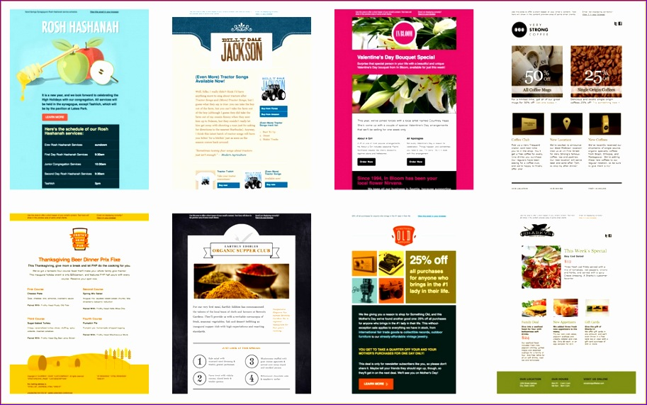 6 business email templates