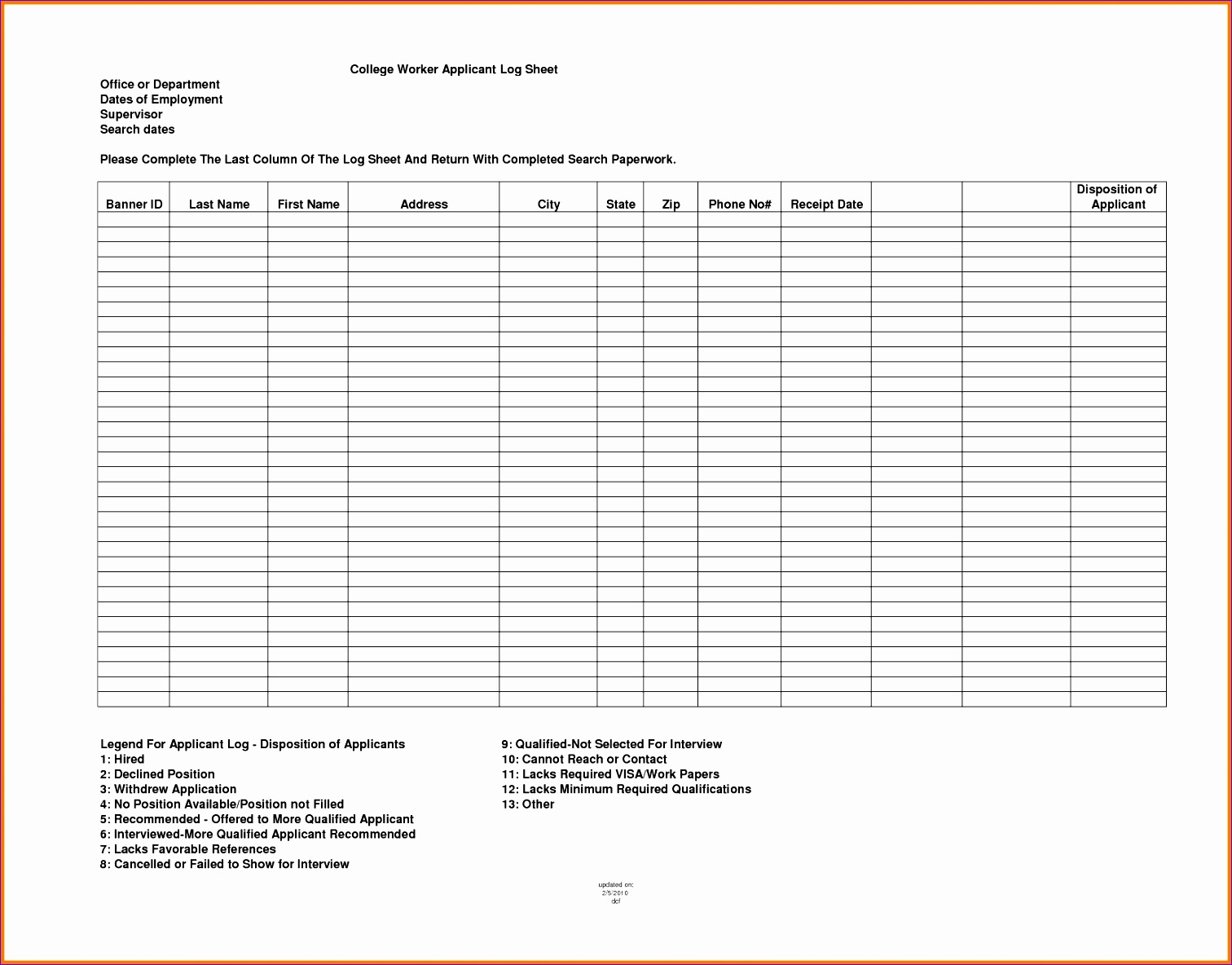 sign up sheet template word 15121184