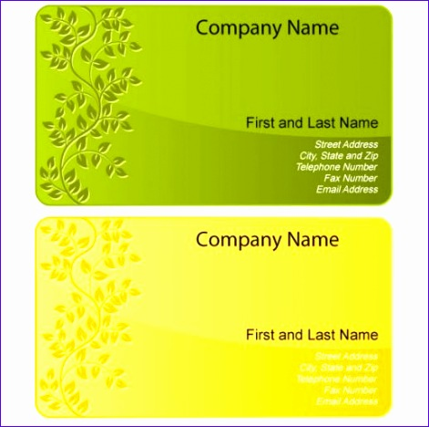 sample business card templates free 3766 471468