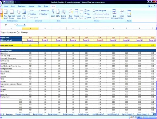 rental property management templates 518393