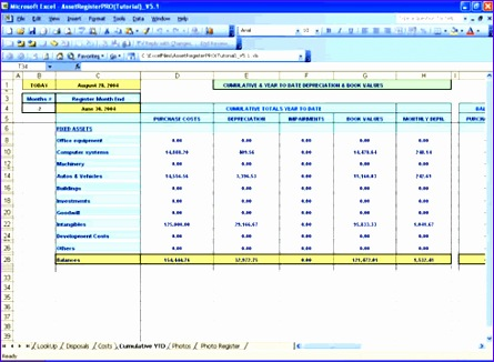 Managerial Accounting Excel Templates Xbvdy Beautiful Fixed Asset