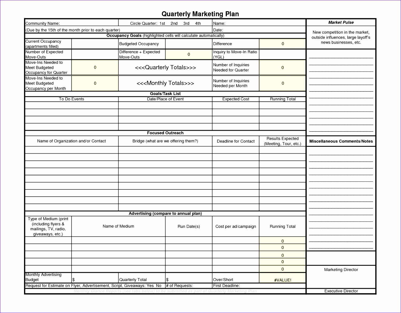 marketing calendar template excel ngrlx lovely balanced scorecard worksheet 16501275