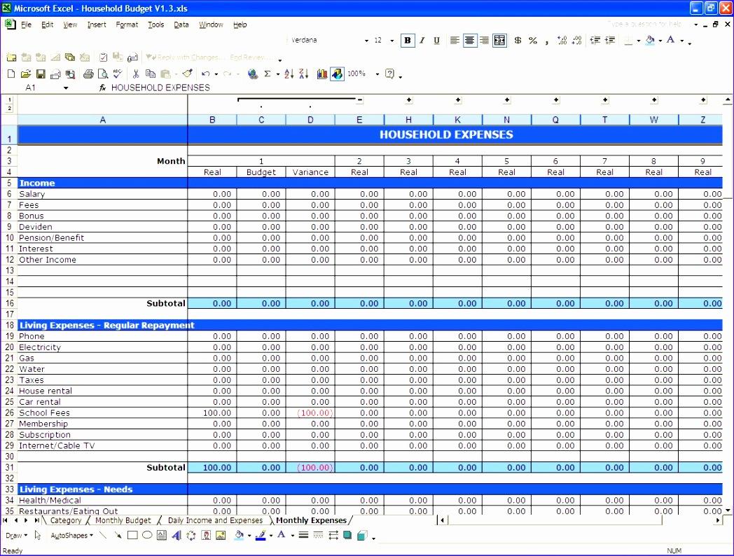 Schön Excel Tabellenkalkulation Budget Zeitgenössisch - Entry Level ...
