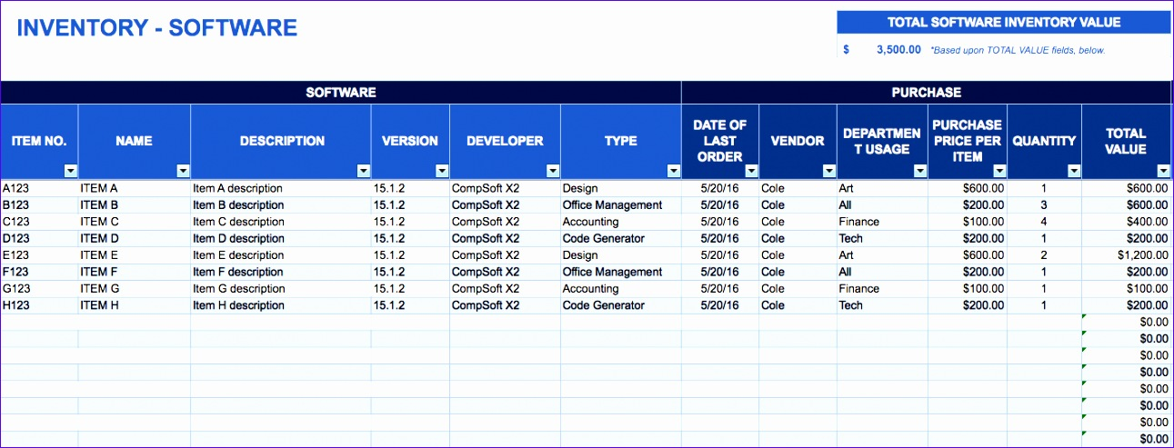 excel inventory management template 1291493