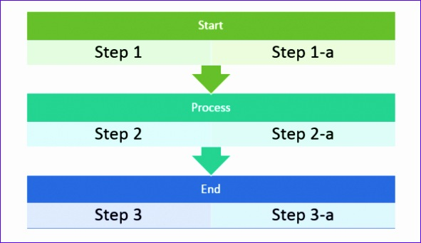 flow chart template for word
