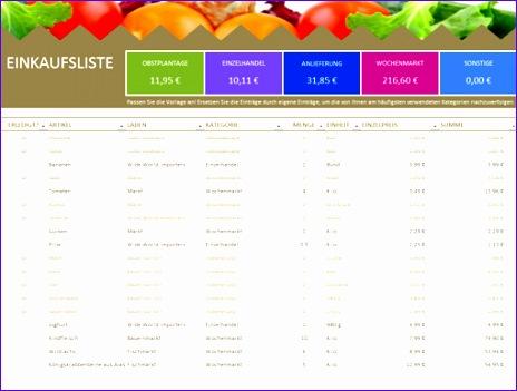 Einkaufsliste TM 464351