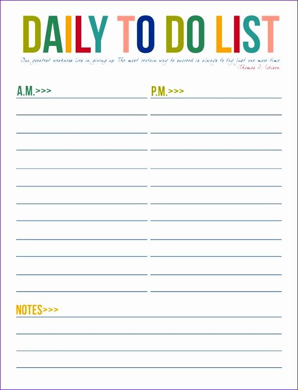 10 business printable to do list templates 591773