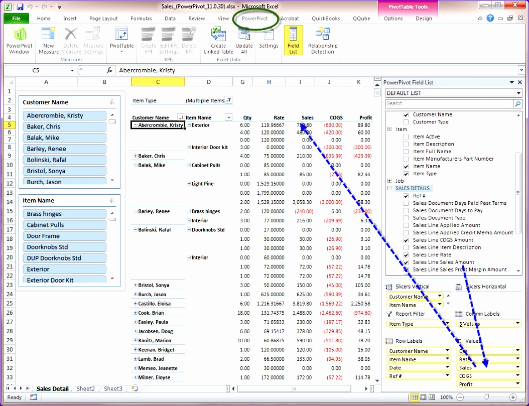 advanced pivot table excel 2010 1054809