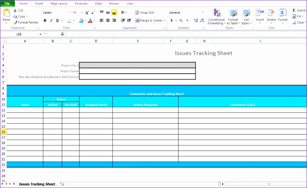 issue tracking template excel microsoft