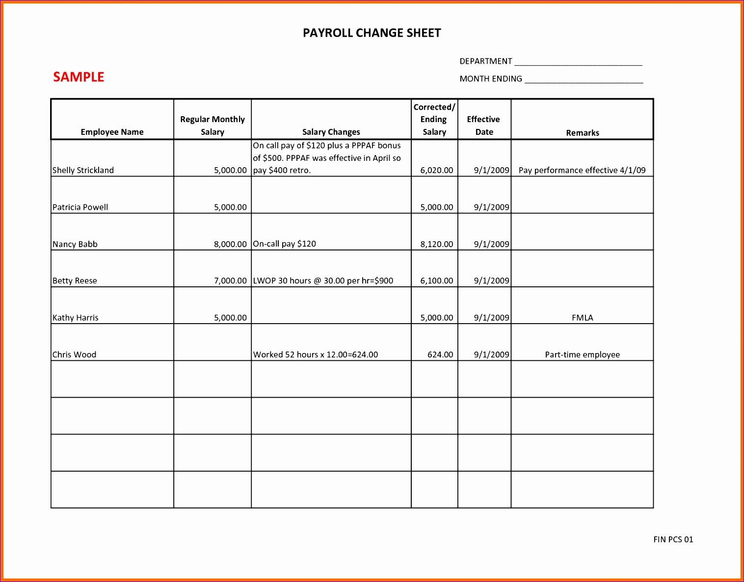 8 payroll sheet 15161187