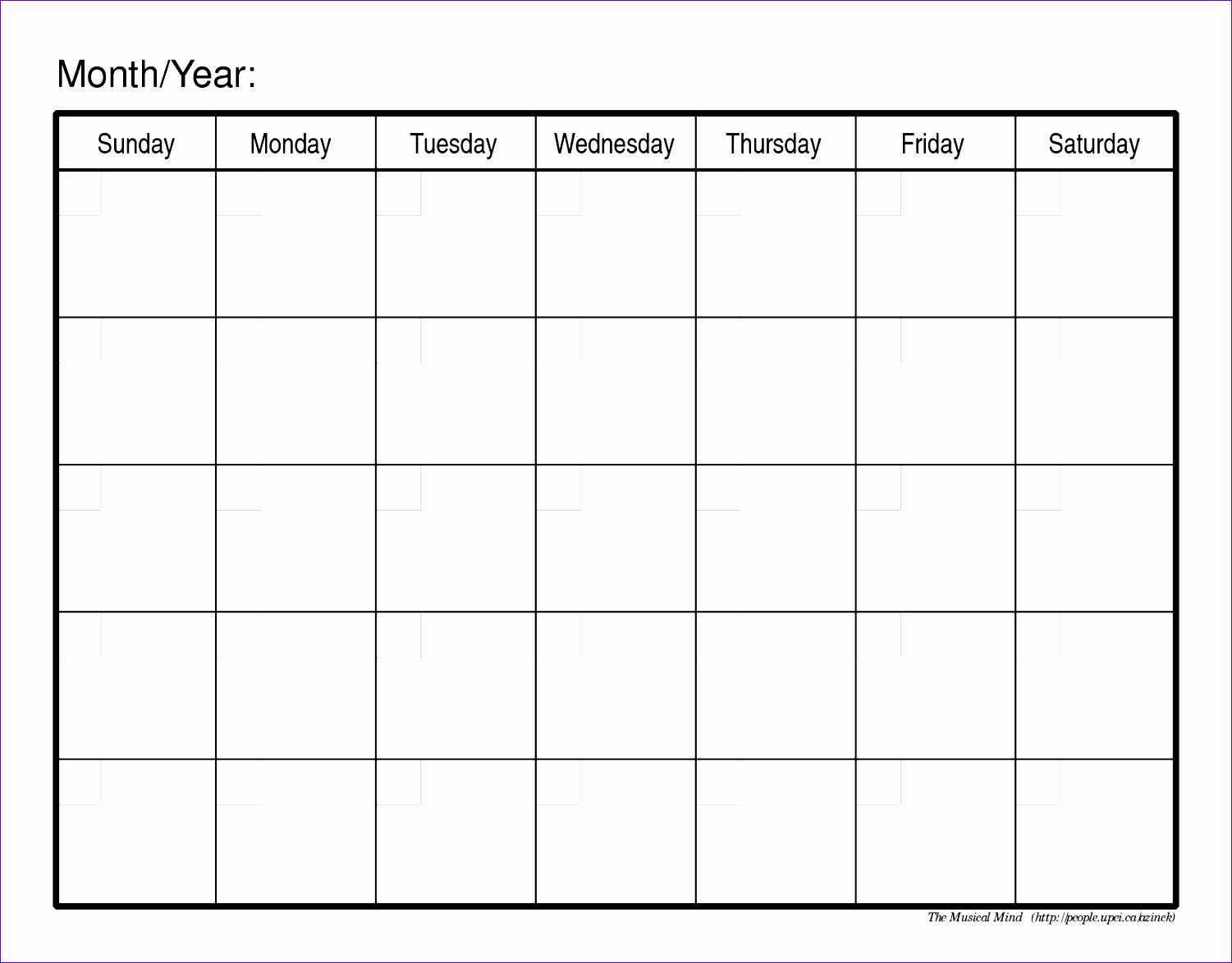 monthly schedule template 15011173