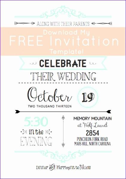 free wedding invitation templates 421596