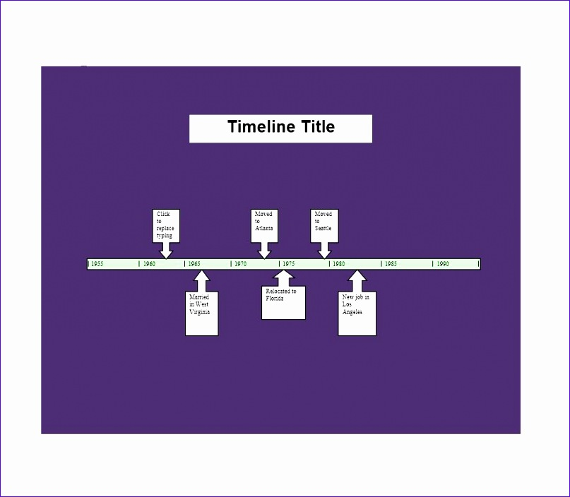 timeline templates 807704