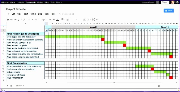 project timeline excel template 582296