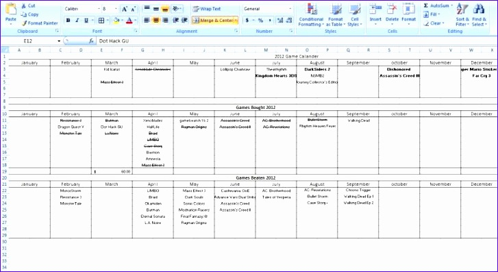 microsoft excel to do list template