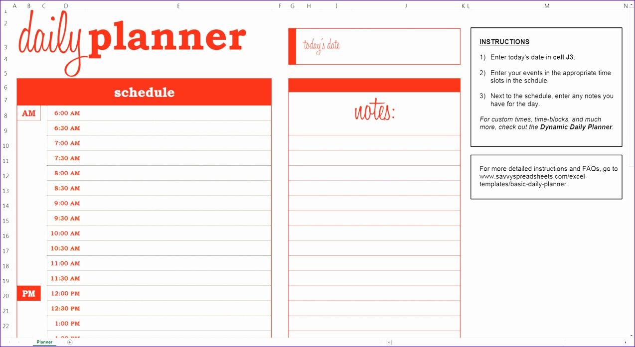 daily calendar excel 2435 1274697