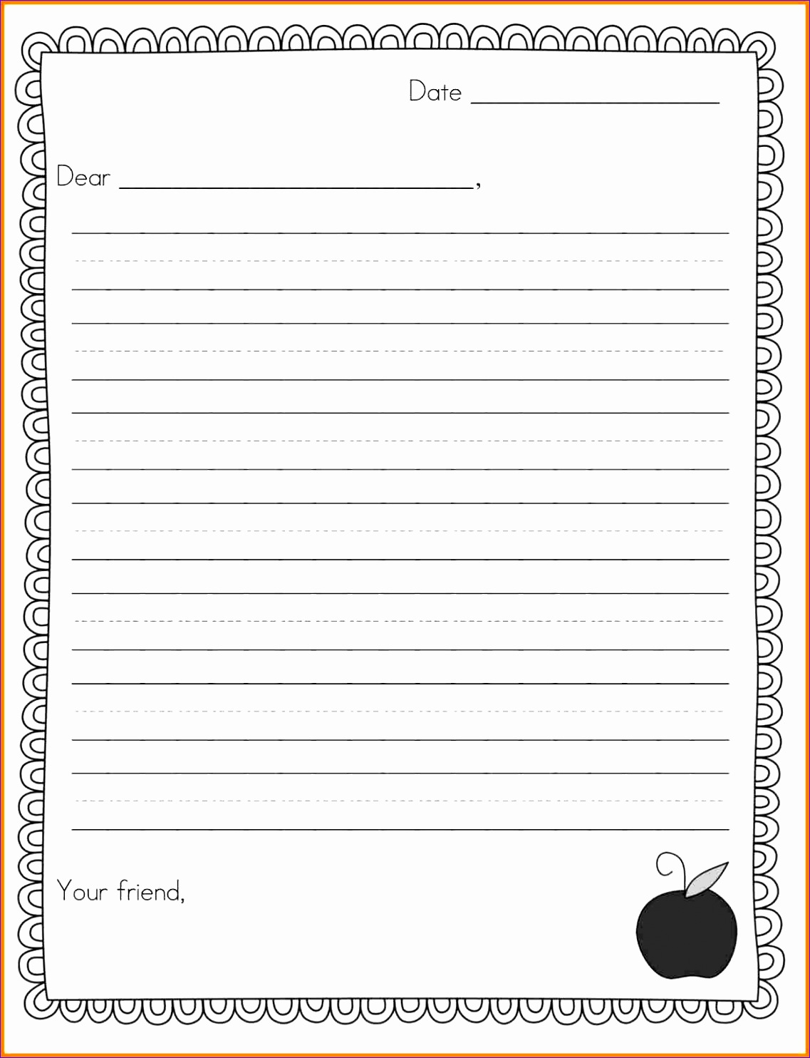 2 letter writing format for kids 11371484
