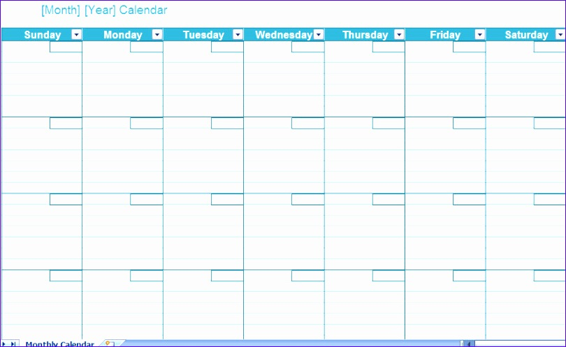 2014 calendar template excel 810497
