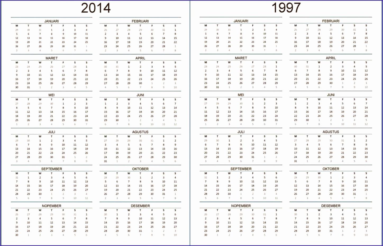 kalender 1997 1448930