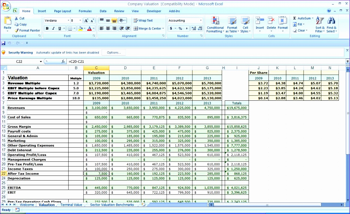 new business excel spreadsheet 1164712