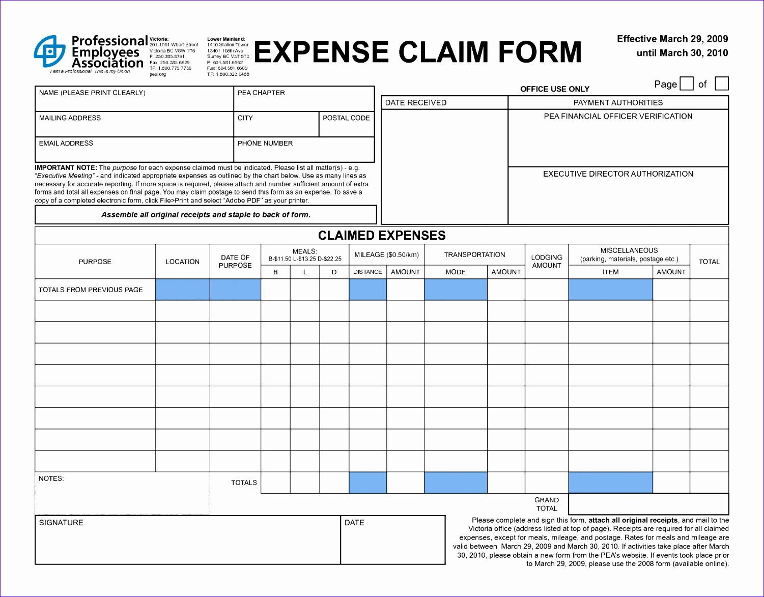 business expenses spreadsheet template