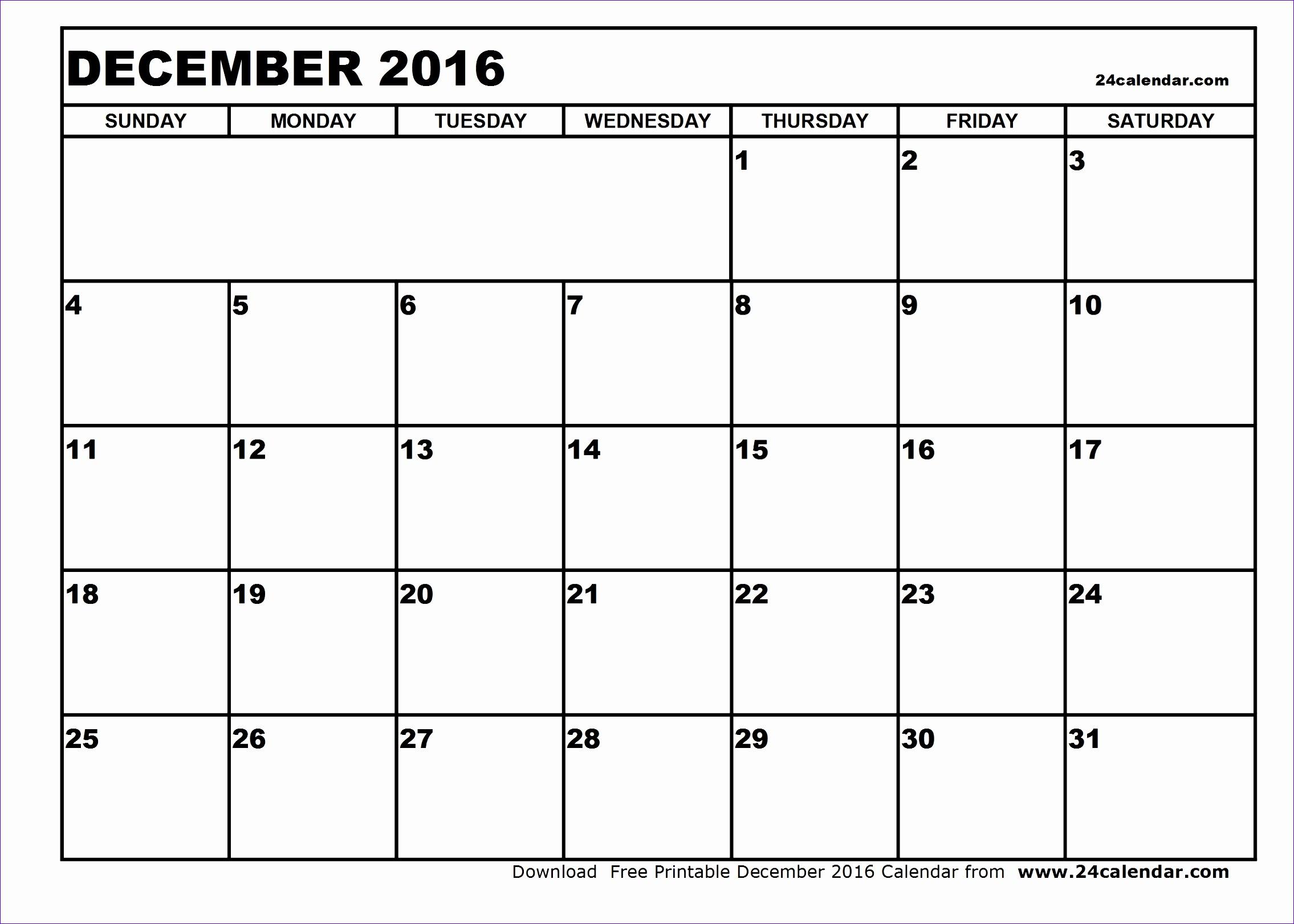 december 2016 calendar printable 1981