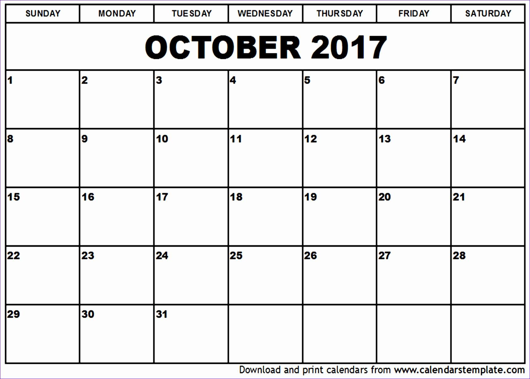 october 2017 calendar template 1363 17191229