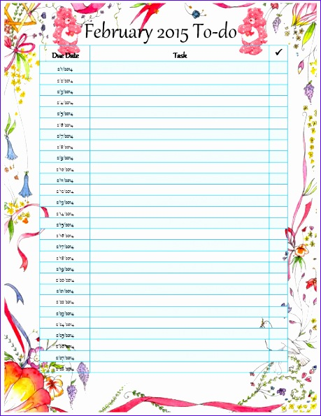 monthly to do list template free 640 459595