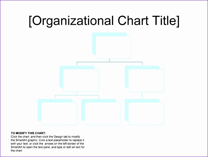organizational chart simple basic easy layout 1628 728552