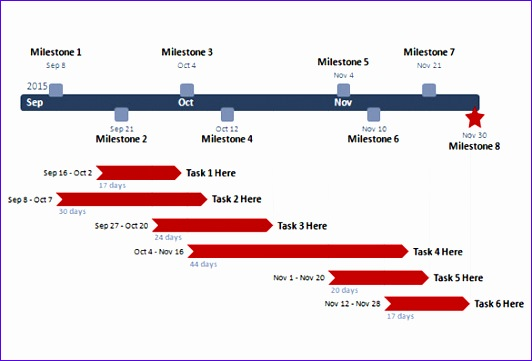 ms powerpoint timeline template 532361