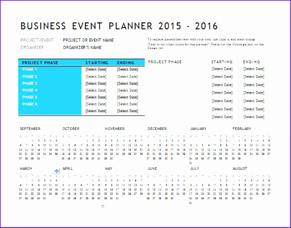 business event planner 585458