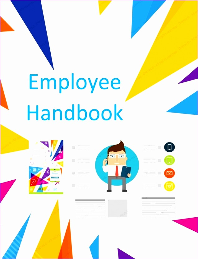 employee handbook template word