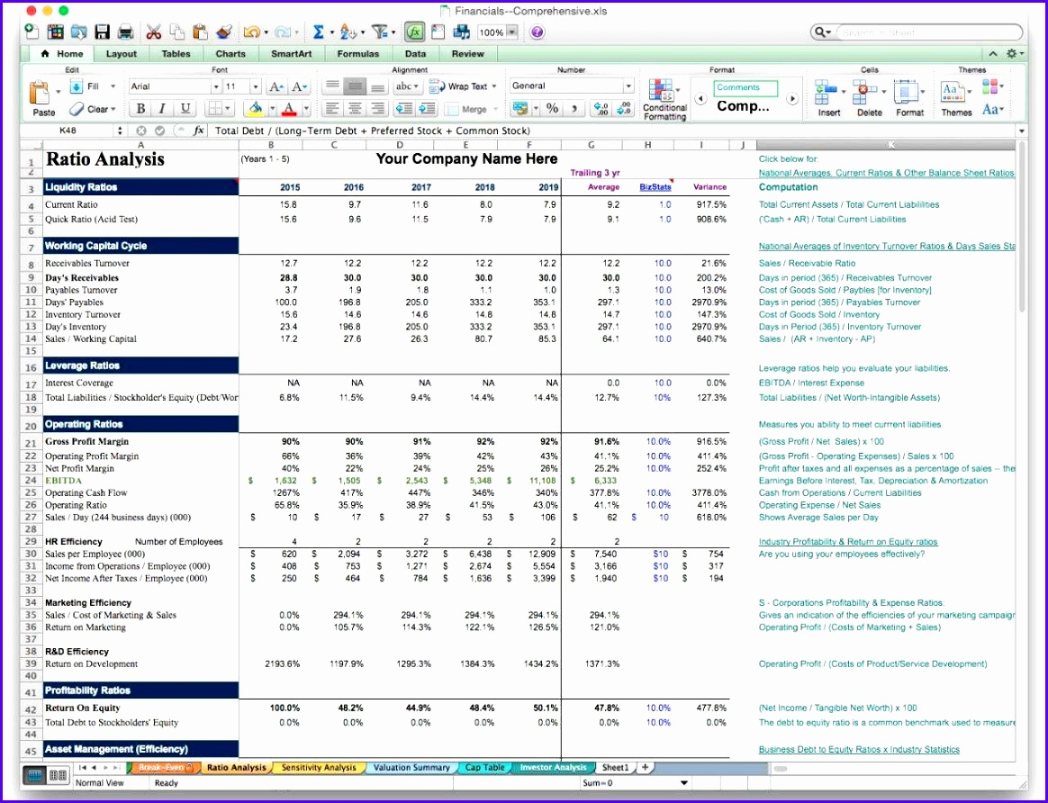 Using Excel For Small Business Accounting Basic Excel Spreadsheet For Small Business Small Business In e Statement 1164892