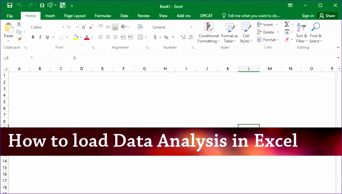 how to install data analysis addin in excel 2013 2016 windows 1164662