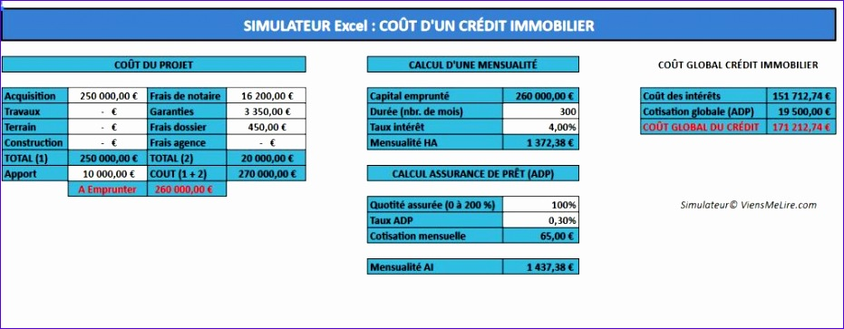 modele excel simulation suivi credit 931363