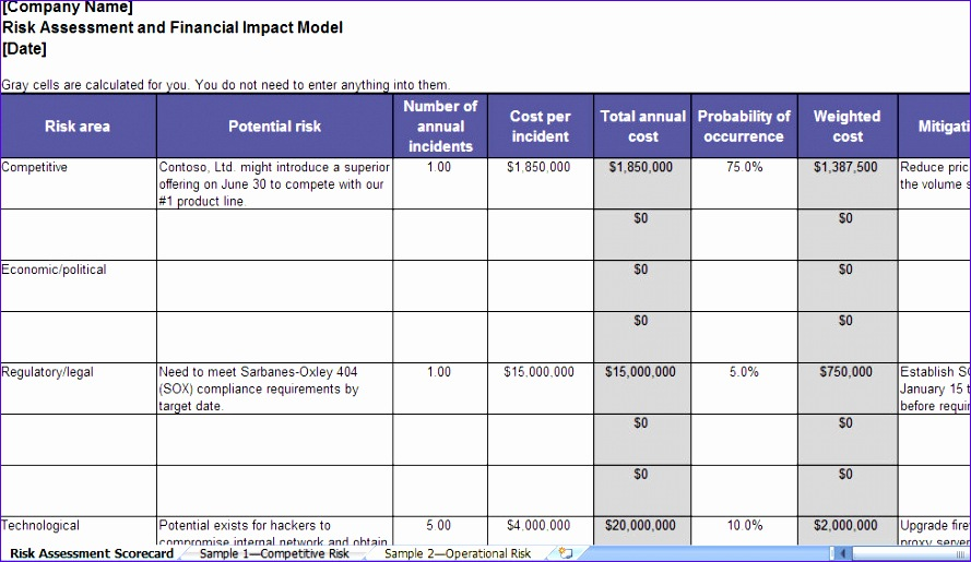 operational plan template excel 1035 889515