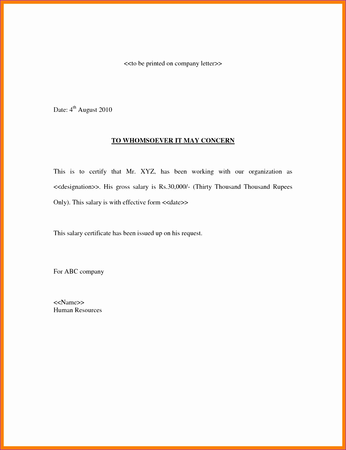 4 confirmation of salary letter 11851543