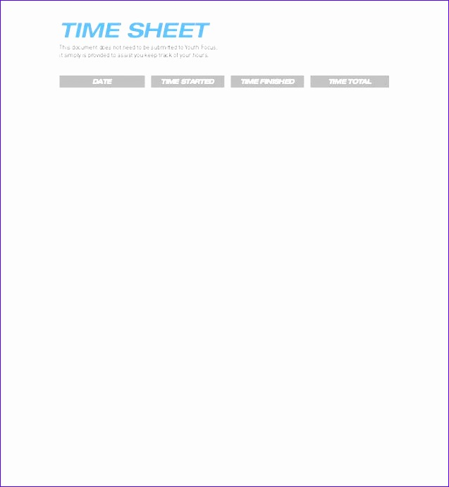 timesheet template 637690