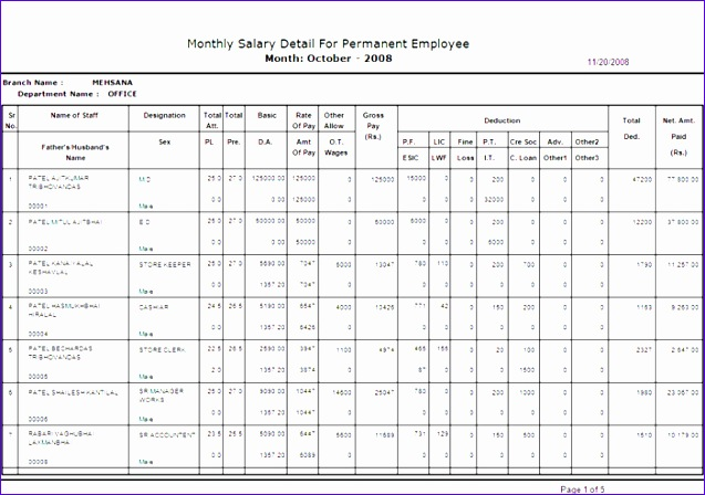 payroll reports salary register 637448