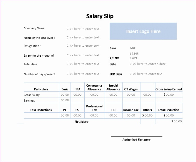 simple salary receipt template samples 667552