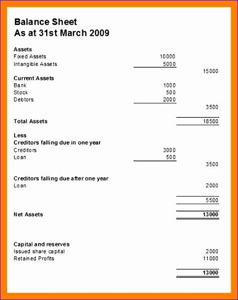 4 Blank Balance Sheet Format 484610  Blank Balance Sheets