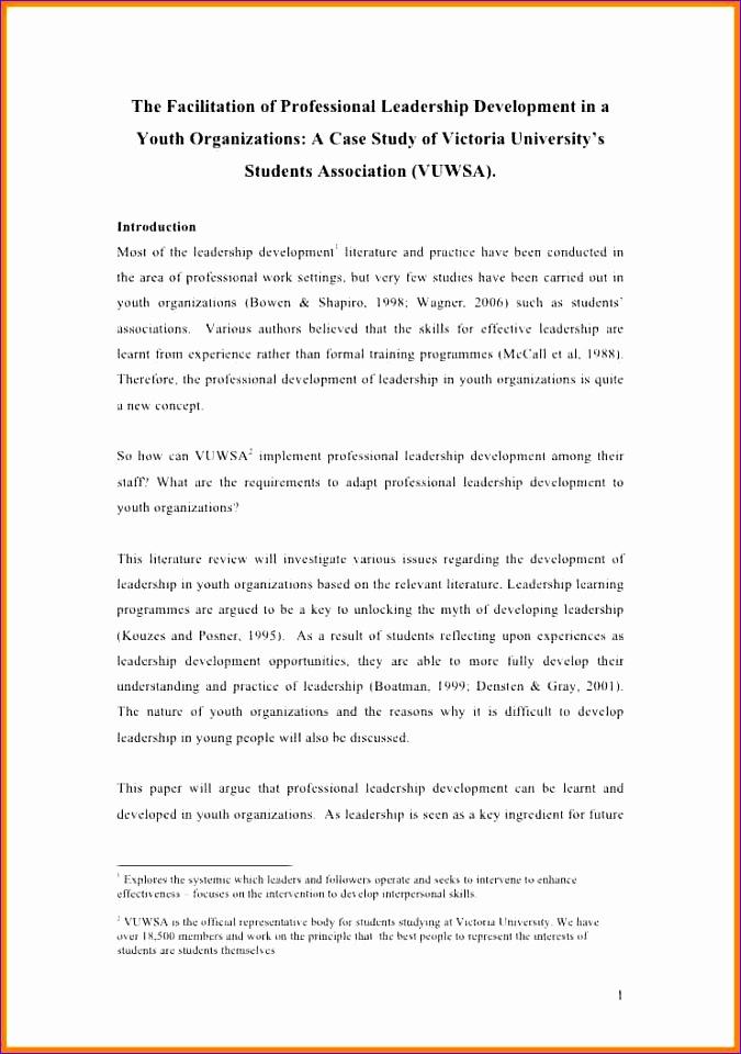 9 literature survey sample 675960